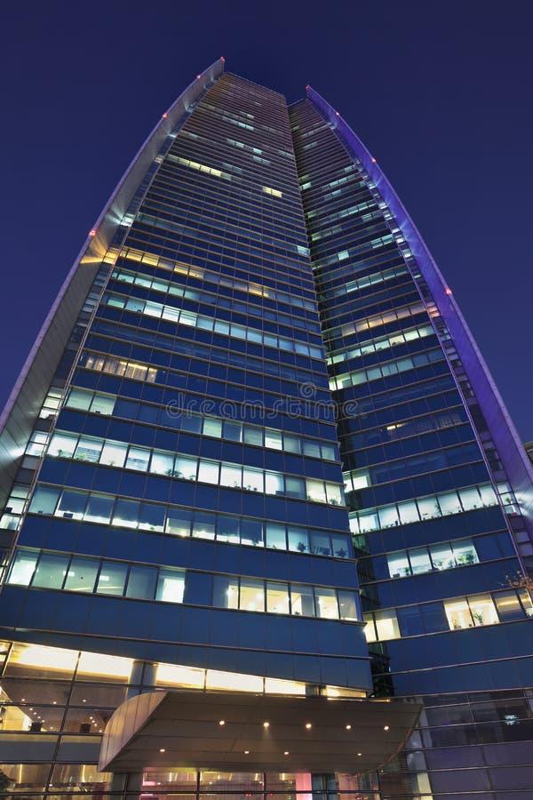 Sinosteel размещает штаб на ноче, Пекине, Китае стоковые изображения