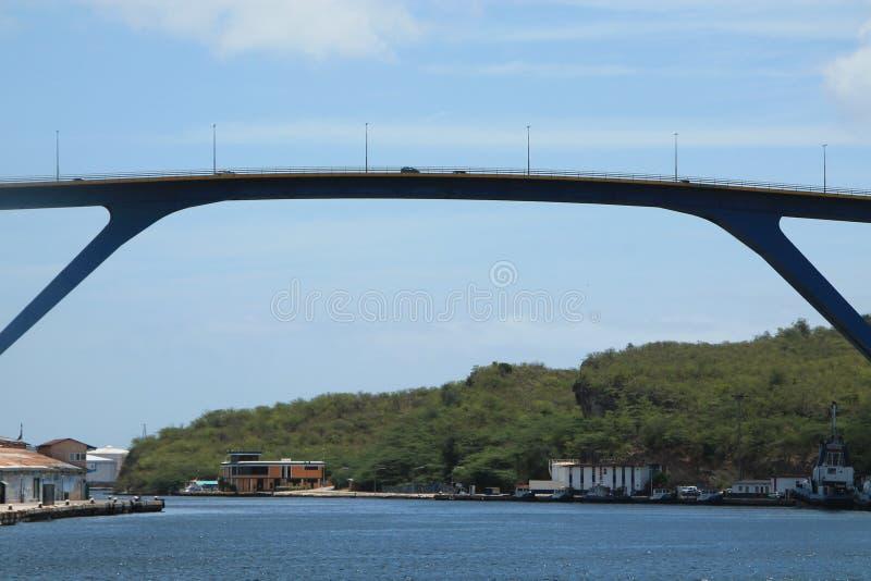 Sint Anna Bay Curacao imagenes de archivo