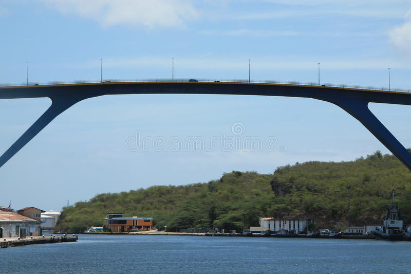 Sint Anna Bay Curacao stock images