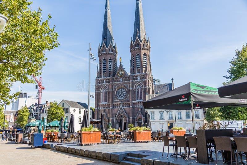 Sint-Joseph Church, Tilburg, Nederland royalty-vrije stock foto