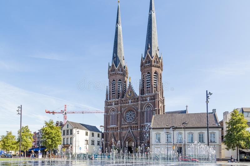 Sint-Joseph Church, Tilburg, Nederland stock fotografie