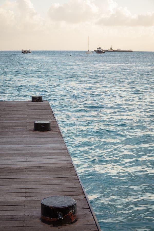 Sint Maarten Dock imagen de archivo libre de regalías