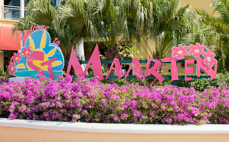 Sint Maarten, Philipsburg foto de archivo libre de regalías