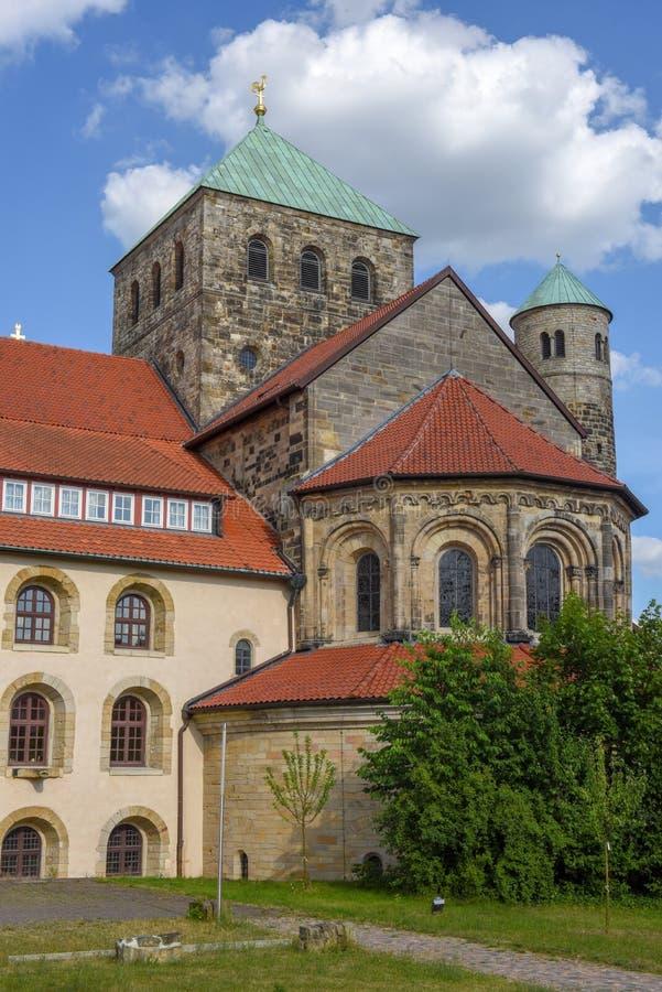 Sint-Michael's kerk bij Hildesheim op Duitsland royalty-vrije stock fotografie