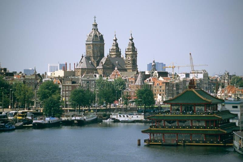 Sint Nicolaaskerk, Amsterdam imagenes de archivo