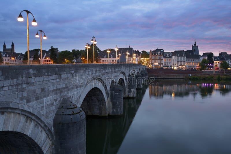 Sint-Servaasbrug à Maastricht, Pays-Bas photos libres de droits
