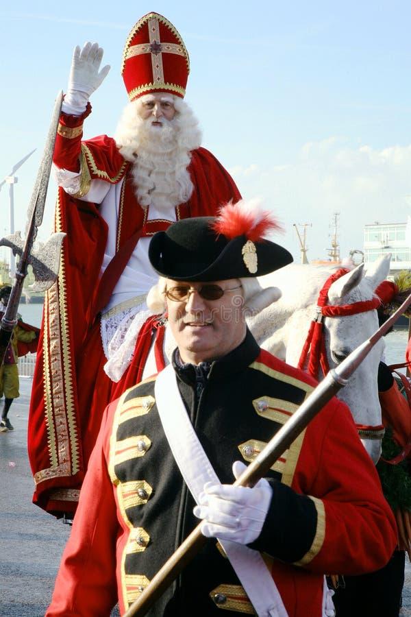 Sinterklaas â Weihnachtsmann, Str. Nicolas. lizenzfreies stockfoto