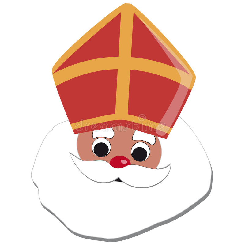 Sinterklaas stock abbildung