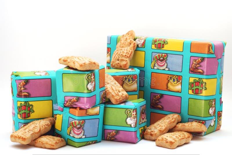 Sinterklaas Geschenke stockfoto