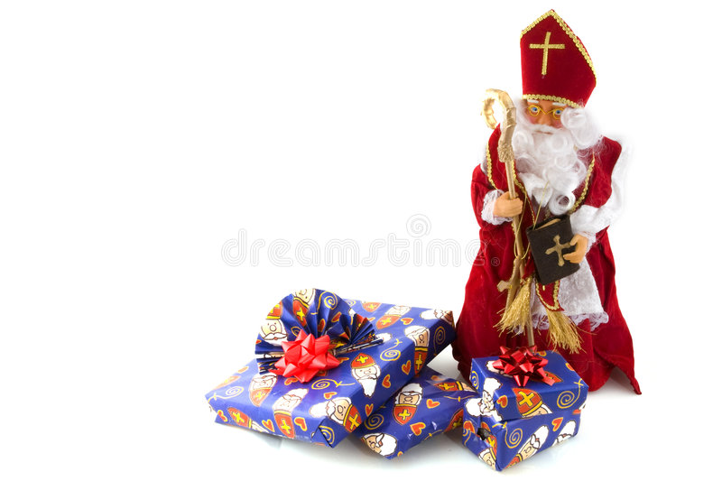 Download Sinterklaas in Holland stock photo. Image of isolated - 7243844