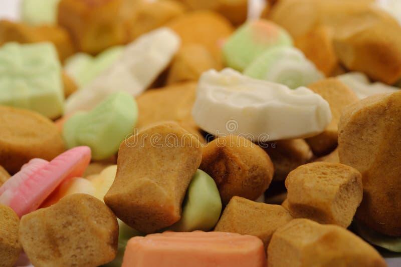 Sinterklaas Süßigkeit stockbild