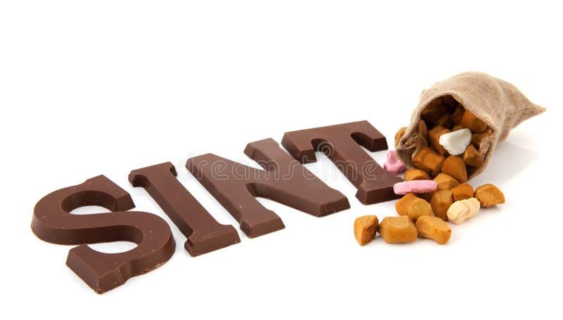 Sinterklaas Süßigkeit stockfoto