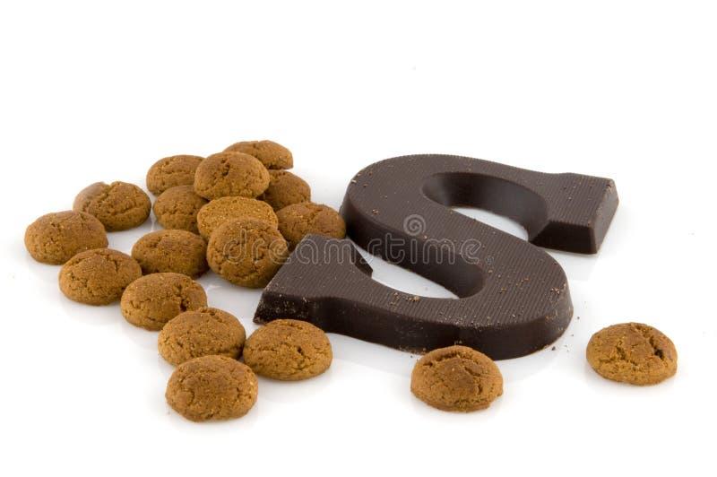 Sinterklaas Süßigkeit lizenzfreies stockfoto