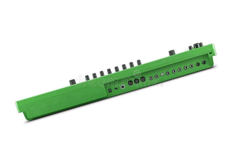 Sintonizador verde aislado imagenes de archivo