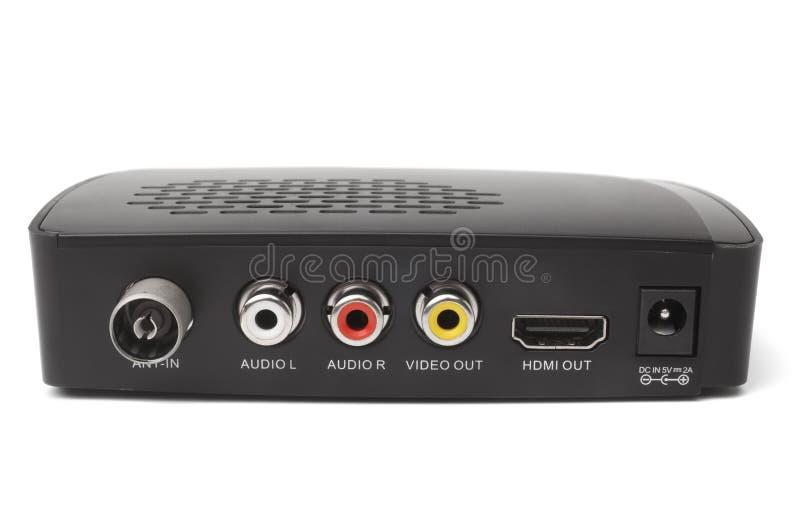 Sintonizzatore del ricevitore di Digital TV fotografie stock libere da diritti