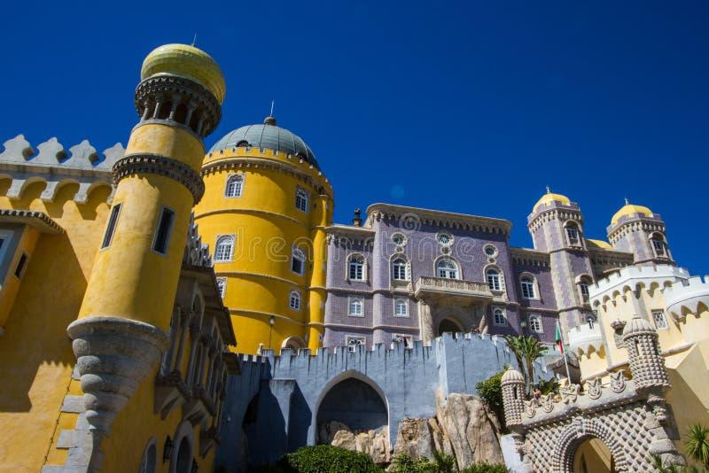 Sintra дворца Pena стоковые изображения rf