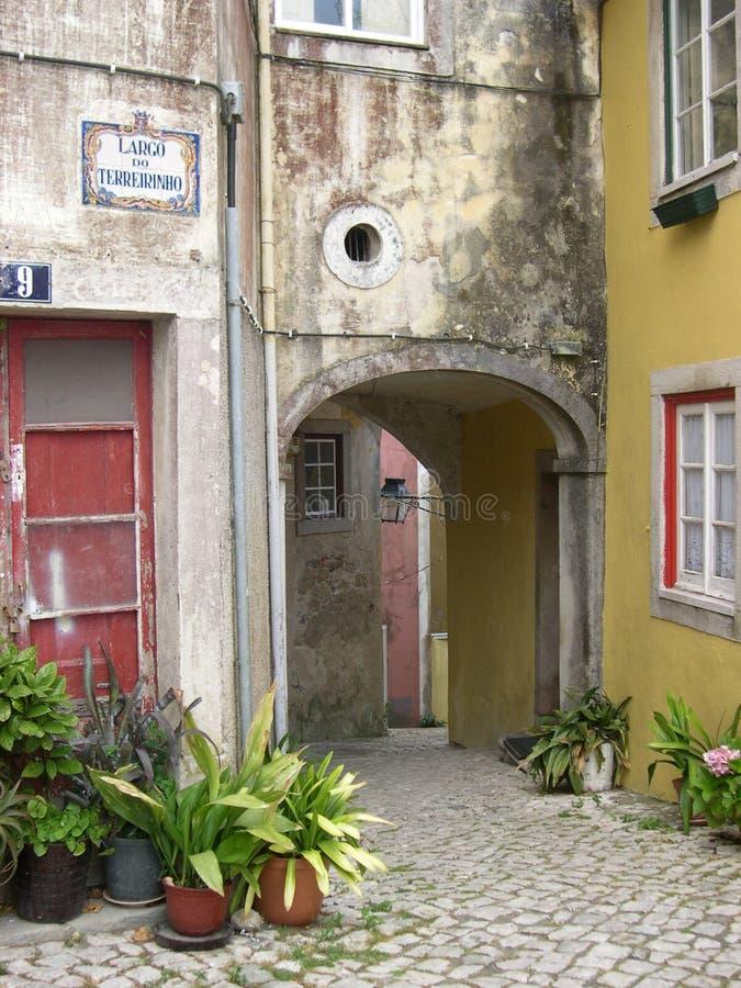 Download Sintra стоковое фото. изображение насчитывающей строя, португальско - 650508