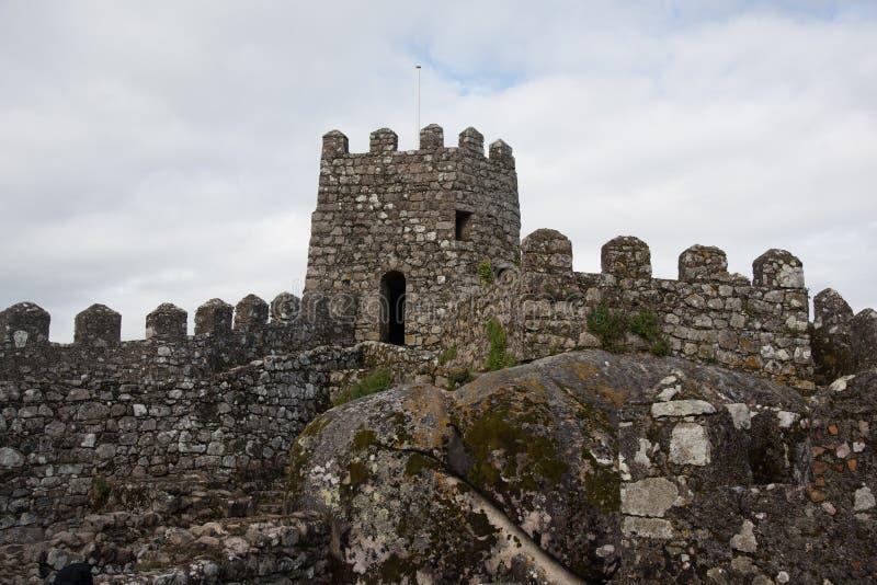Sintra Castelo dos Mouros zdjęcie stock