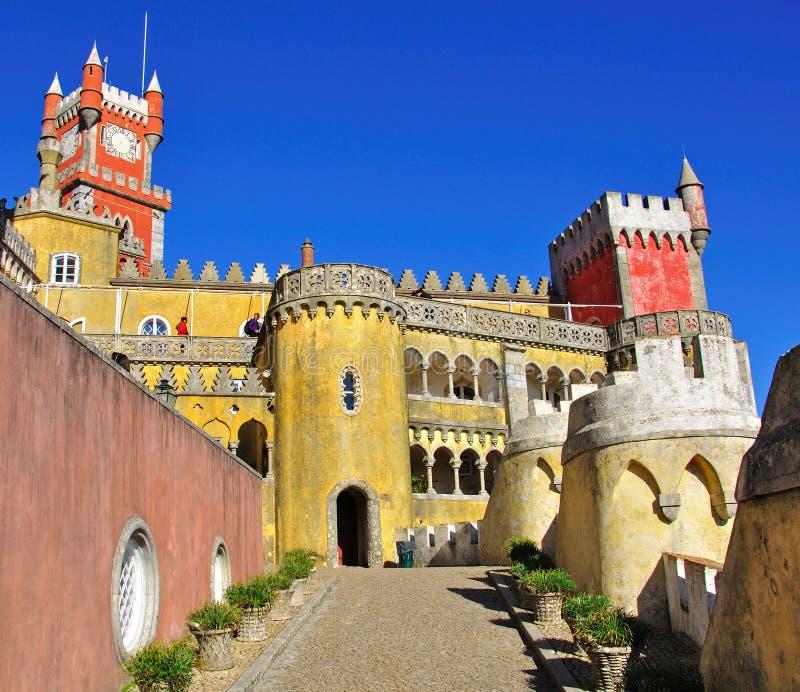 Download Sintra castle stock image. Image of landmark, culture - 34958867