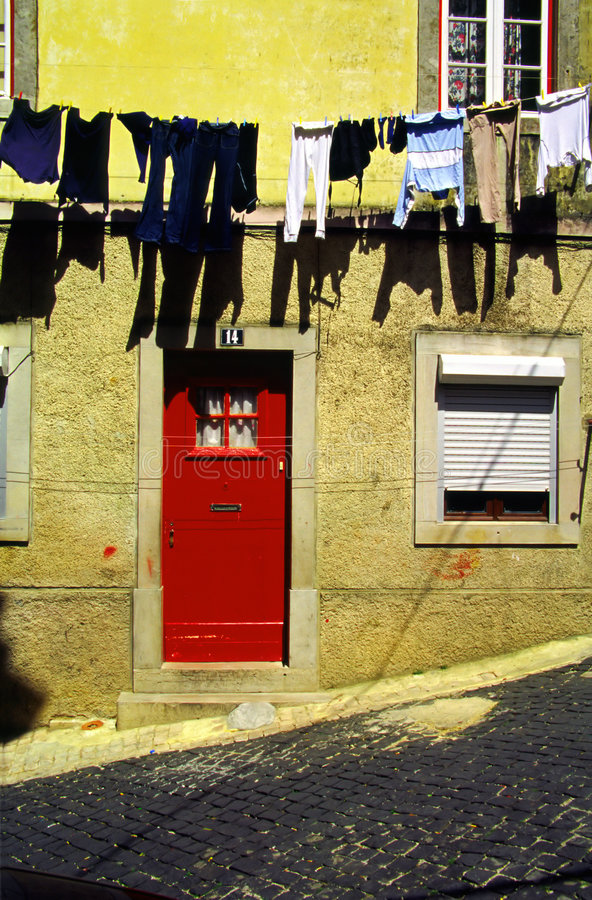 Sintra Laundry. royalty free stock photo