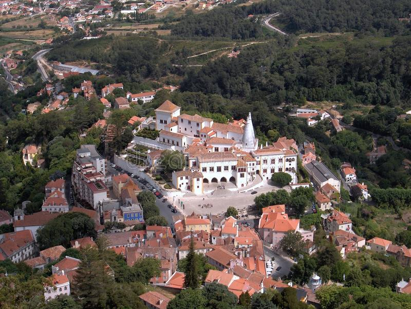 Download Sintra Palace stock photo. Image of beautiful, colourful - 19903090