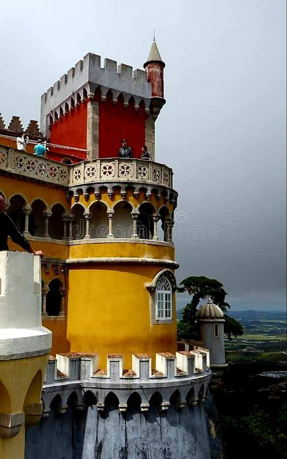 Sintra Palacio da Pena fotografia royalty free