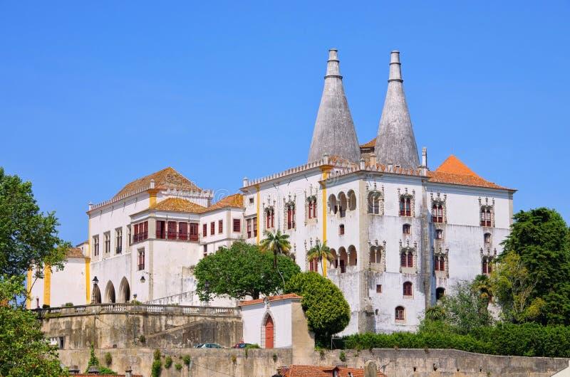 sintra palacio de nacional στοκ φωτογραφία με δικαίωμα ελεύθερης χρήσης