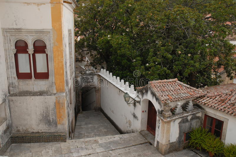 Sintra in Portugal stock afbeelding