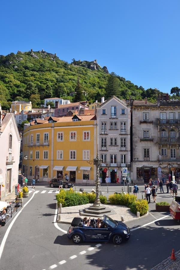 Sintra in Portugal stockbilder