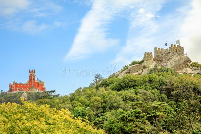 Landmarks in Sintra royalty free stock images