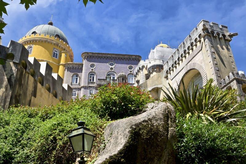 Sintra, Portugal Palácio do nacional de Pena Palacio Nacional a Dinamarca Pena foto de stock royalty free
