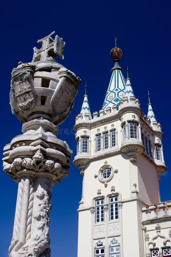 Sintra Rathaus lizenzfreies stockfoto