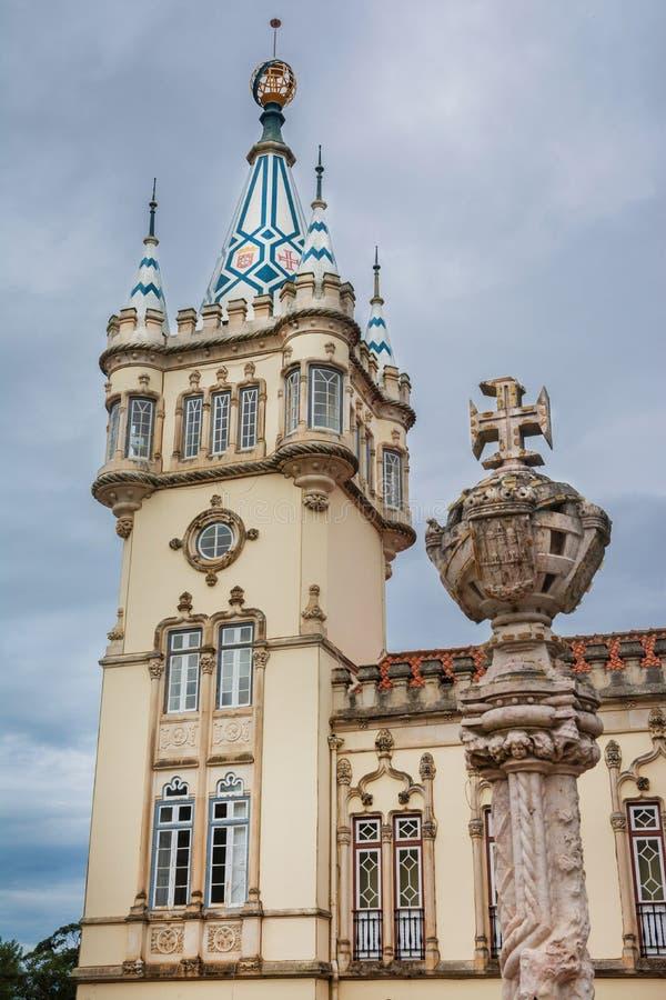 Sintrastadhuis royalty-vrije stock afbeelding