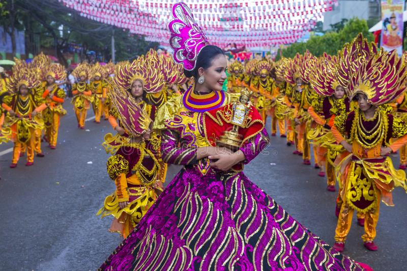 Sinulog festival 2018 arkivbilder