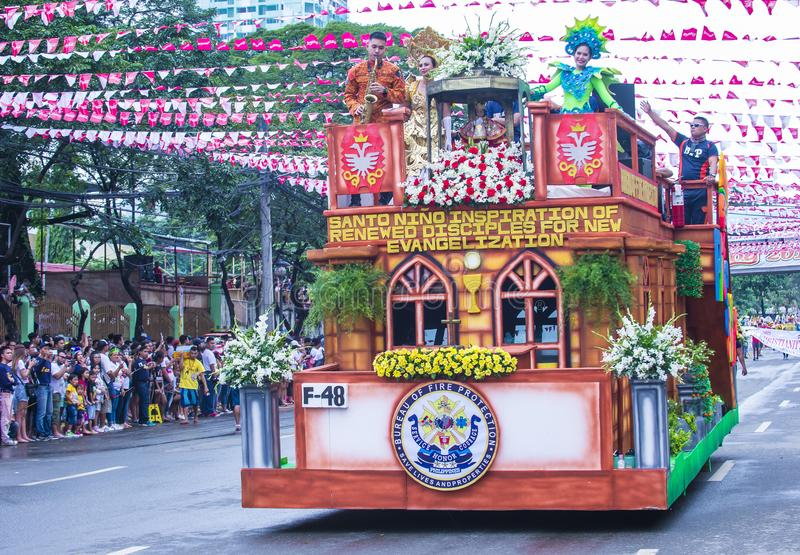 2018 Sinulog-festival stock foto's