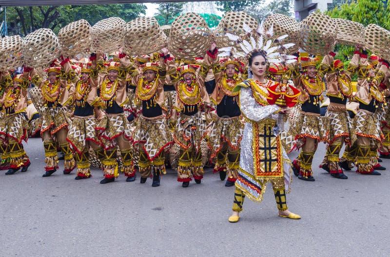 2018 Sinulog festiwal fotografia stock