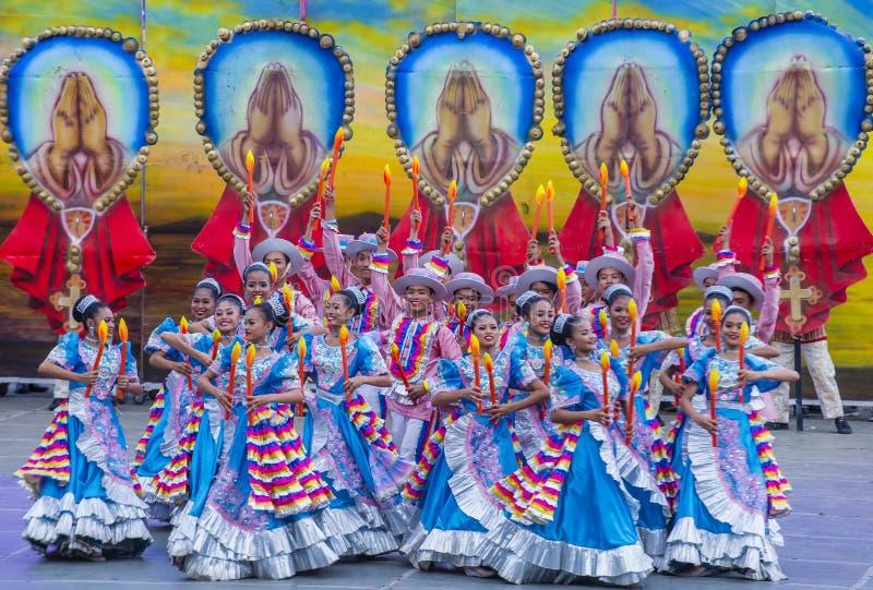 2018 Sinulog festiwal zdjęcia royalty free