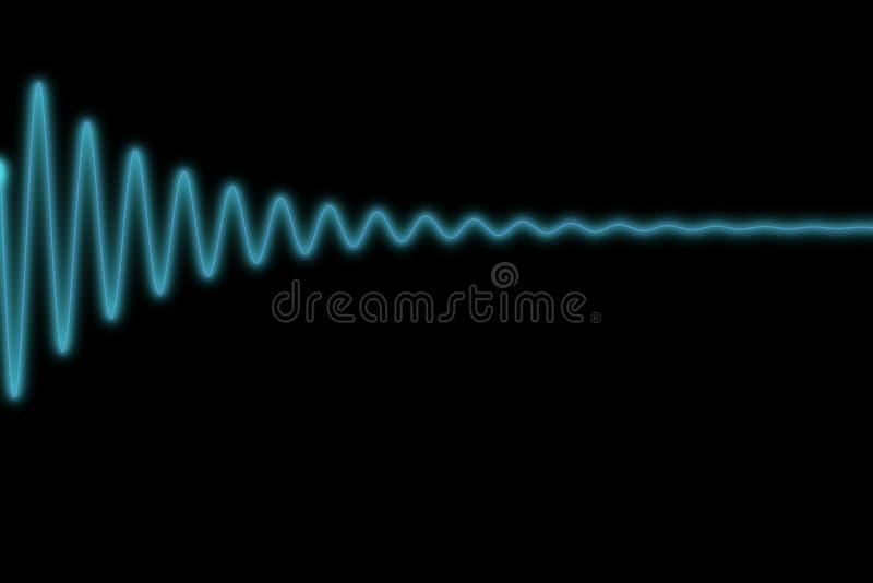 Download Sinus decrease stock illustration. Illustration of oscilloscope - 28812656
