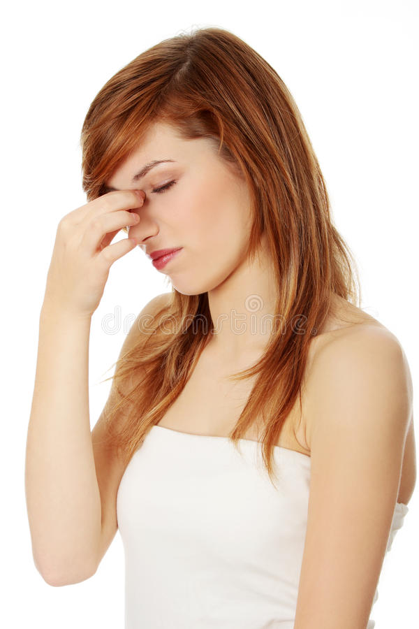 Download Sinus Pain Royalty Free Stock Photography - Image: 23057847