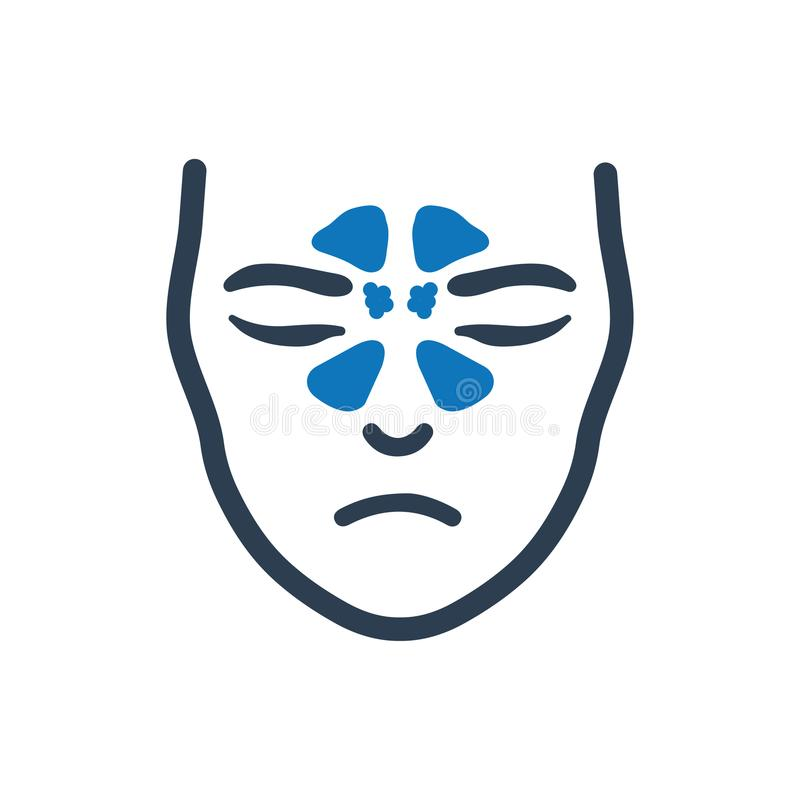 Free Sinus System Icon Stock Photography - 111287872