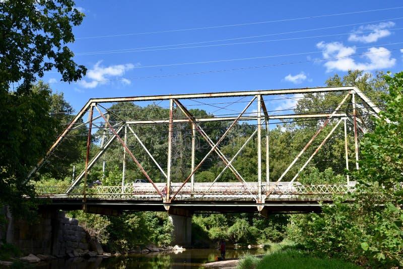 Siodłowy stajni drogi most zdjęcia stock