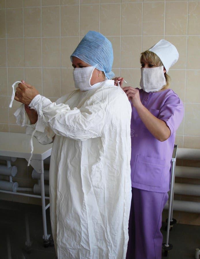 siostro chirurgicznej fotografia stock