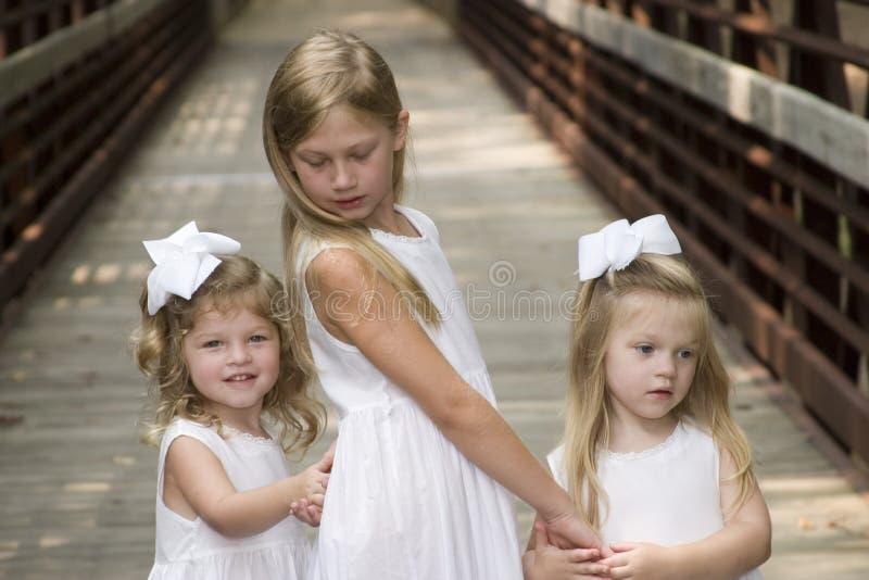 siostry. zdjęcie stock