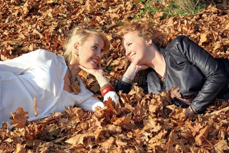 Siostry fotografia royalty free