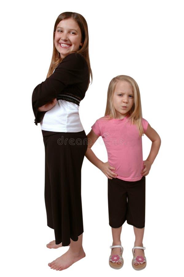 siostry. obraz royalty free