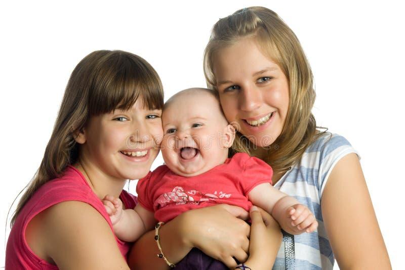 siostry trzy fotografia royalty free