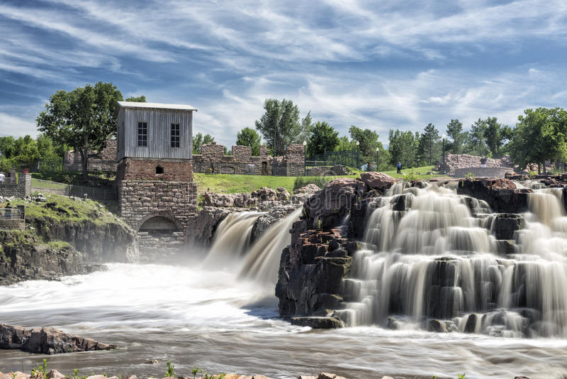 Sioux Falls, il Dakota del Sud fotografie stock libere da diritti