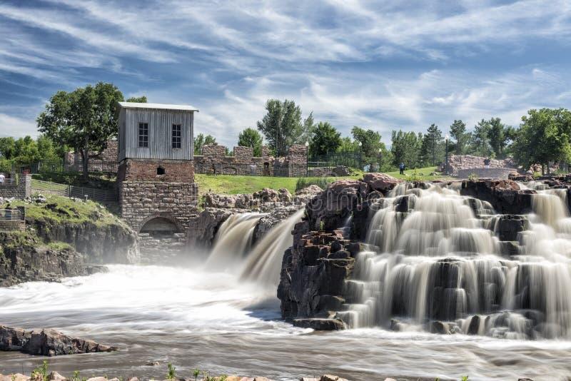 Sioux spadki, południowy Dakota zdjęcia royalty free