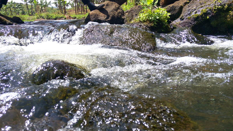 Sipi-Fluss lizenzfreie stockfotos