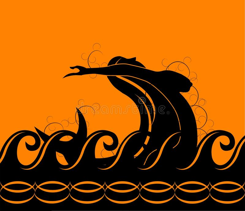 Sirène photo libre de droits